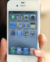 Would your dad go bonkers over a white iPhone?