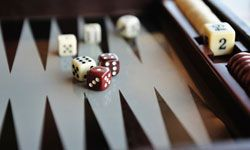Backgammon may seem like a game of luck, but enthusiasts will tell you differently.