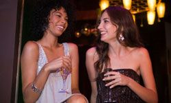 Nesting is fun, but don't forget about your best friend! Take a break from newlywed stuff to treat your maid of honor to a night on the town.