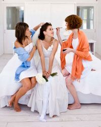 Your maid of honor and attendants will appreciate being given any jewelry and accessories you want them to wear with their dresses.