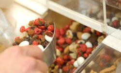 Whether you're craving something salty or sweet, trail mix will hit the spot.