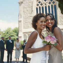 Traditional weddings appeal to most brides (and their conservative grandmothers).