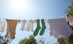 Want your clothes to smell like a beautiful spring day? Save energy and skip the dryer.