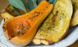There is plenty of variety in the squash and gourd family. Brighten a drab winter day by grilling acorn or spaghetti squash.