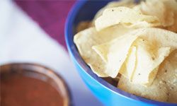 Chips and salsa go together, but should you buy them on the same aisle?