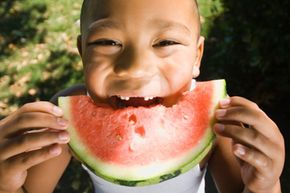 Fruit is a delicious and healthy snack for parents and kids.
