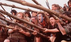 """Mel Gibson's """"Braveheart"""" dazzled audiences more than historians."""