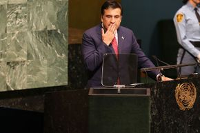 A 2008 Imedi broadcast stating that Georgia's leader Mikheil Saakashvili had been assassinated sent citizens pouring into the streets in a panic.