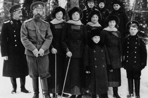 The Romanov family.