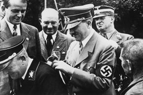 Hitler may have penned secret diaries, but the ones unearthed in 1945 were fakes.