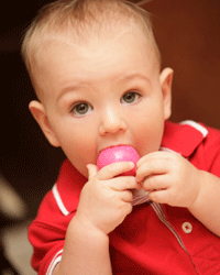 Small items should be kept out of reach of young children.