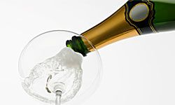 Don't let the bubbly turn you into a blabbermouth.