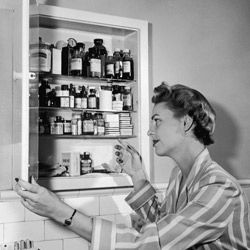 A well-stocked medicine chest will help you treat your minor scuffs and pains. See more personal hygiene pictures.