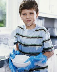 Kids and chores don't usually mix.