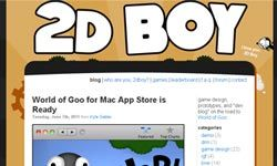 """For the latest scoop on """"World of Goo"""" and other titles from indie game studio 2D Boy, be sure to check out the company's blog."""