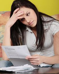 Even if you have outstanding debts, try to avoid bankruptcy -- it may prevent you from short selling your home.