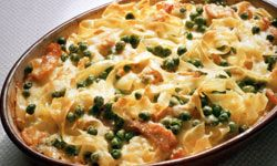 Casseroles, like this tagliatelle gratin, always taste better after a day in the fridge.