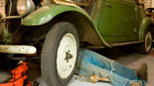 10 Places to Look for Classic Car Parts