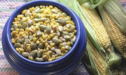 Succotash has been around for centuries, but there's a reason for its enduring popularity: It tastes great!