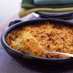 Nothing tastes likes a cheesy, piping-hot corn casserole!