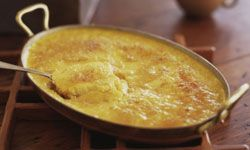 Corn pudding isn't the healthiest use of the vegetable, but it may be the tastiest!