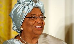Ellen Johnson Sirleaf was awarded the Nobel Peace Prize in 2011 for her efforts to stabilize Liberia after decades of civil war and government corruption.