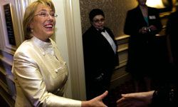 In 2006, Michelle Bachelet became Chile's first female president.
