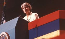 Although Geraldine Ferraro didn't become vice president, her nomination by the Democratic Party in 1984 was an historical event.