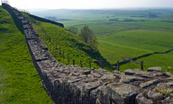 Explore Hadrian's Wall for glimpses into the Roman days -- and for good winter camping spots.