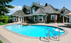 Maintaining your pool year-round will save you some sweat come swimming season.