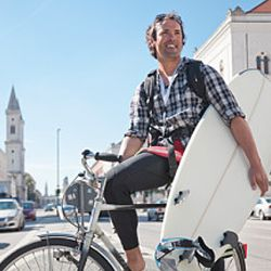 Most experts suggest not replacing a car with a bike in most cases, but rather parking the car and using a bike or walking to do errands.