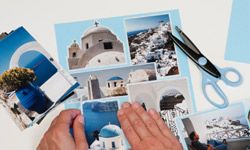 Making a scrapbook is a great way to display pictures from your cruise around the Greek Isles.