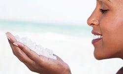 A soak in Dead Sea salt may relieve your symptoms.