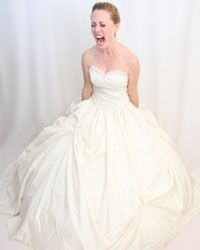 Hiring a wedding planner can help you avoid making this face on your wedding day.