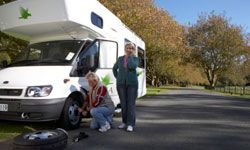 A flat tire may be the least of your problems -- be prepared to deal with any RV maintenance issues that arise.