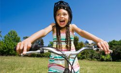 Kids' free time is often packed with academic and sports activities.