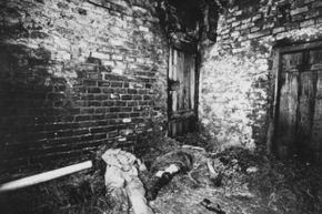 Four bodies were found in the barn at Hinterkaifeck. Two others were in the farm house.