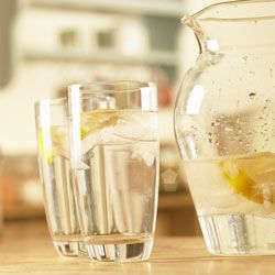 Here's to your health: Drinking lemon water does a body good.