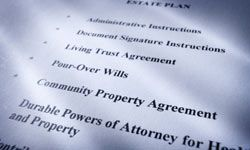 A living trust can detail who inherits what property, who has the right to use it and under what conditions.
