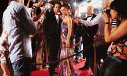 Your friends will feel like stars at your red carpet gala.