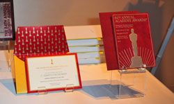 If you're hosting an Oscars event, perhaps you could copy these invitation samples from the 84th Academy Awards Governors Ball.