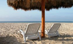 Imagine you and your significant other sitting in these chairs in The Bahamas.