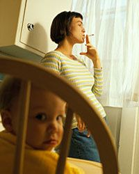 Research shows that it's a fact: Children of smokers are much more likely to take up smoking themselves.