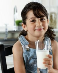 Forego milk with too much fat.
