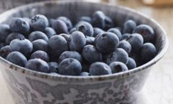 Blueberries are a healthy (and tasty) addition to any breakfast.