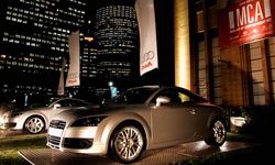 The launch of the new Audi TT Coupe and TT Roadster at the MCA in Sydney, Australia.
