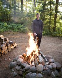 Campfires are key to survival.