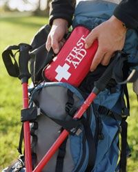 First aid kit -- don't leave home without it.