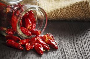 Partaking of some red hot chili peppers could generate an interesting bodily response.