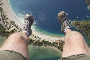 Scared of heights? This situation might make you perspire. Heavily.